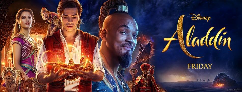 Aladdin premiere friday genie, princess jasmine